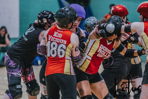 Lotus Phtotography Bournemouth Dorset Roller Girls Roller Derby Sport Photography 244