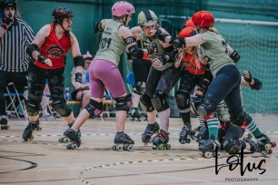 Lotus Phtotography Bournemouth Dorset Roller Girls Roller Derby Sport Photography 25