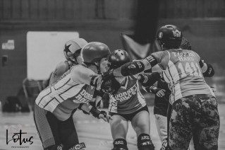 Lotus Phtotography Bournemouth Dorset Roller Girls Roller Derby Sport Photography 250-2