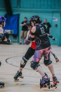 Lotus Phtotography Bournemouth Dorset Roller Girls Roller Derby Sport Photography 262