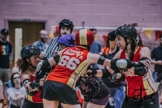 Lotus Phtotography Bournemouth Dorset Roller Girls Roller Derby Sport Photography 263