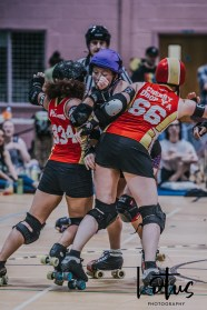 Lotus Phtotography Bournemouth Dorset Roller Girls Roller Derby Sport Photography 264