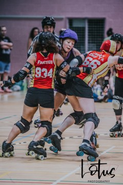 Lotus Phtotography Bournemouth Dorset Roller Girls Roller Derby Sport Photography 266