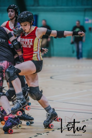 Lotus Phtotography Bournemouth Dorset Roller Girls Roller Derby Sport Photography 269