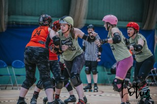 Lotus Phtotography Bournemouth Dorset Roller Girls Roller Derby Sport Photography 27