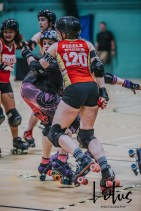 Lotus Phtotography Bournemouth Dorset Roller Girls Roller Derby Sport Photography 270