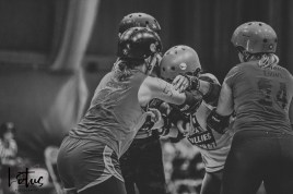 Lotus Phtotography Bournemouth Dorset Roller Girls Roller Derby Sport Photography 28-2