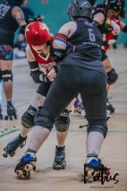 Lotus Phtotography Bournemouth Dorset Roller Girls Roller Derby Sport Photography 281
