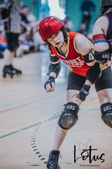Lotus Phtotography Bournemouth Dorset Roller Girls Roller Derby Sport Photography 282