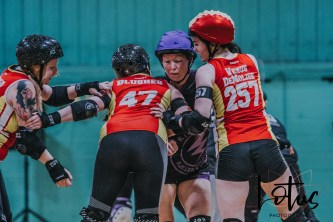 Lotus Phtotography Bournemouth Dorset Roller Girls Roller Derby Sport Photography 287