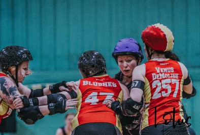 Lotus Phtotography Bournemouth Dorset Roller Girls Roller Derby Sport Photography 288