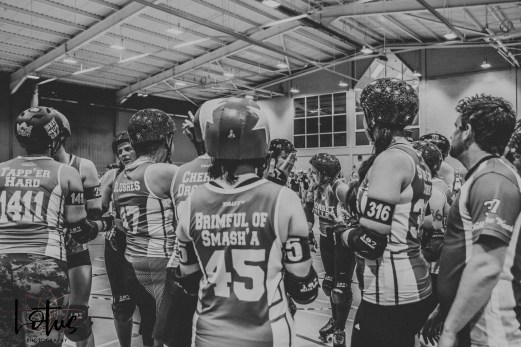 Lotus Phtotography Bournemouth Dorset Roller Girls Roller Derby Sport Photography 306-2