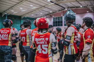 Lotus Phtotography Bournemouth Dorset Roller Girls Roller Derby Sport Photography 306