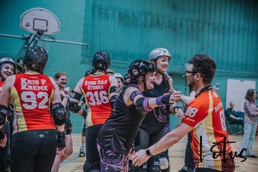 Lotus Phtotography Bournemouth Dorset Roller Girls Roller Derby Sport Photography 309