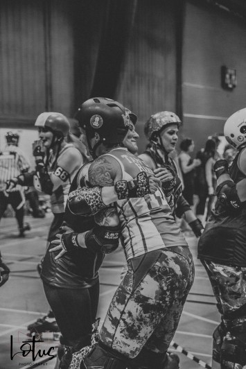 Lotus Phtotography Bournemouth Dorset Roller Girls Roller Derby Sport Photography 311-2