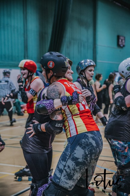 Lotus Phtotography Bournemouth Dorset Roller Girls Roller Derby Sport Photography 311