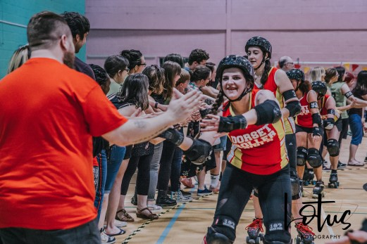 Lotus Phtotography Bournemouth Dorset Roller Girls Roller Derby Sport Photography 326