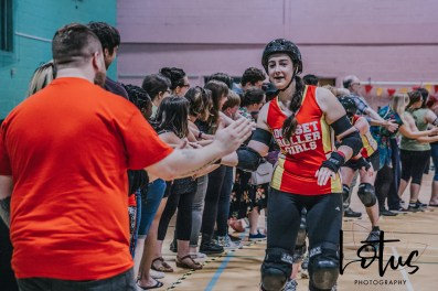 Lotus Phtotography Bournemouth Dorset Roller Girls Roller Derby Sport Photography 327