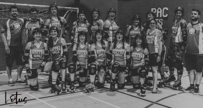 Lotus Phtotography Bournemouth Dorset Roller Girls Roller Derby Sport Photography 331-2