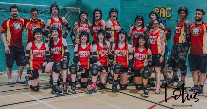 Lotus Phtotography Bournemouth Dorset Roller Girls Roller Derby Sport Photography 331