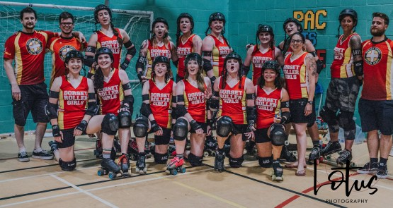 Lotus Phtotography Bournemouth Dorset Roller Girls Roller Derby Sport Photography 332
