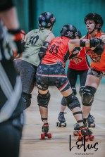 Lotus Phtotography Bournemouth Dorset Roller Girls Roller Derby Sport Photography 40