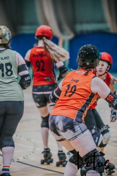 Lotus Phtotography Bournemouth Dorset Roller Girls Roller Derby Sport Photography 46