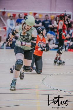 Lotus Phtotography Bournemouth Dorset Roller Girls Roller Derby Sport Photography 49