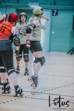 Lotus Phtotography Bournemouth Dorset Roller Girls Roller Derby Sport Photography 54
