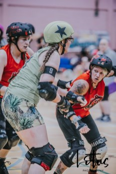 Lotus Phtotography Bournemouth Dorset Roller Girls Roller Derby Sport Photography 58