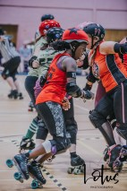 Lotus Phtotography Bournemouth Dorset Roller Girls Roller Derby Sport Photography 70