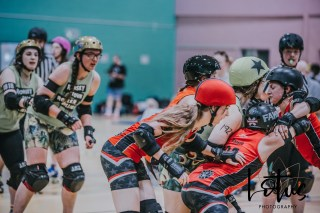 Lotus Phtotography Bournemouth Dorset Roller Girls Roller Derby Sport Photography 73