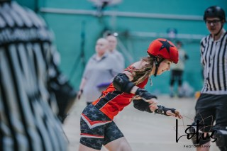 Lotus Phtotography Bournemouth Dorset Roller Girls Roller Derby Sport Photography 86