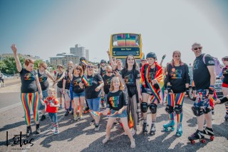 Lotus Photography Bournemouth Bourne Free 2018 Dorset Roller Girls WM 23