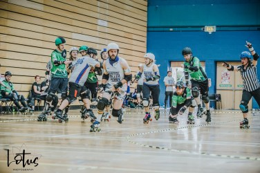 Lotus Photography UK Bournemouth British Roller Derby Championships Bristol vs Wales 100_