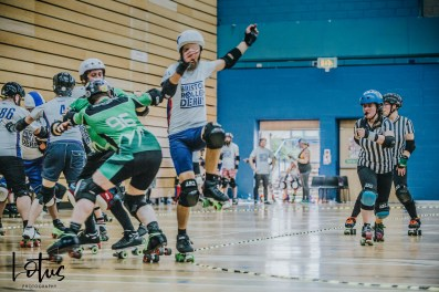 Lotus Photography UK Bournemouth British Roller Derby Championships Bristol vs Wales 91_