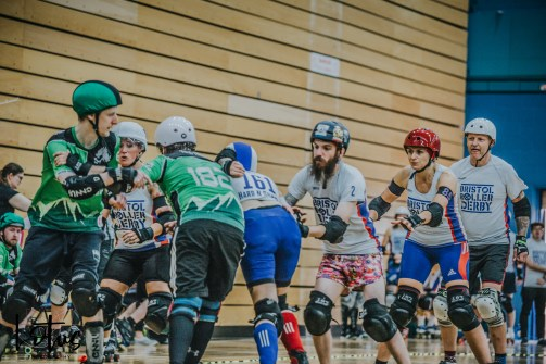 Lotus Photography UK Bournemouth British Roller Derby Championships Bristol vs Wales 97_