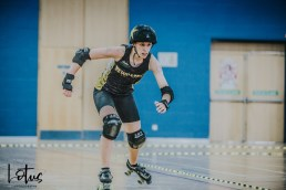 Lotus Photography UK Bournemouth British Roller Derby Championships Whippin' Hinnies vs Hull 64_