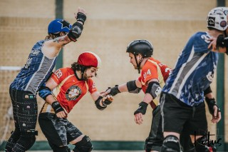 Dorset Knobs London Roller Derby Lotus Photography Bournemouth Dorset Sports Photography 132