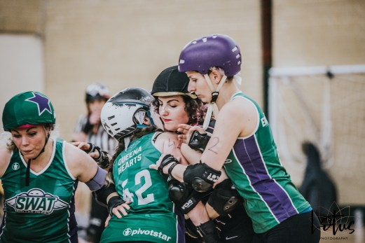 SWAT London Roller Derby Lotus Photography Bournemouth Dorset Sports Photography 102