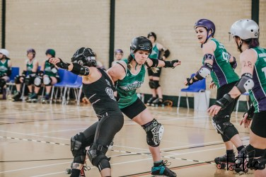 SWAT London Roller Derby Lotus Photography Bournemouth Dorset Sports Photography 115