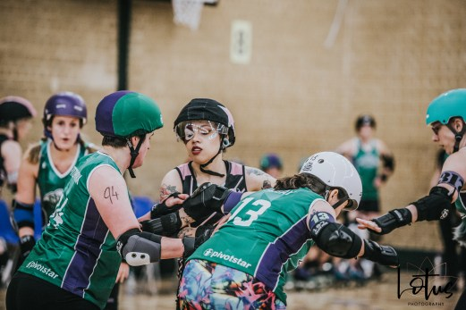 SWAT London Roller Derby Lotus Photography Bournemouth Dorset Sports Photography 12