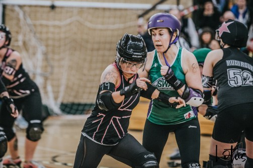 SWAT London Roller Derby Lotus Photography Bournemouth Dorset Sports Photography 122