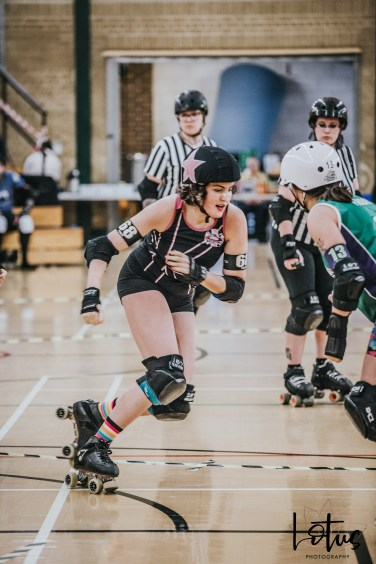 SWAT London Roller Derby Lotus Photography Bournemouth Dorset Sports Photography 129