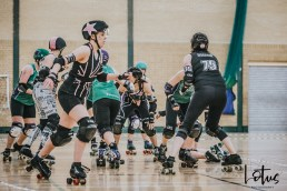 SWAT London Roller Derby Lotus Photography Bournemouth Dorset Sports Photography 64