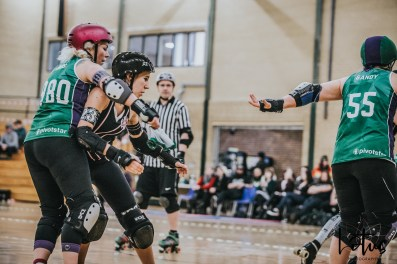 SWAT London Roller Derby Lotus Photography Bournemouth Dorset Sports Photography 74