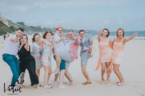 Lotus Photography UK T&A Bournemouth Beach Wedding 234