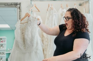 Lotus Photography Bournemouth Poole Dorset Hampshire Brides With Curves Emma Kay MUA Dress Fitting 20190804 39