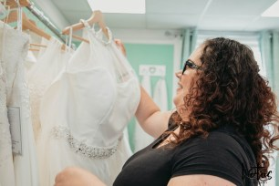 Lotus Photography Bournemouth Poole Dorset Hampshire Brides With Curves Emma Kay MUA Dress Fitting 20190804 45
