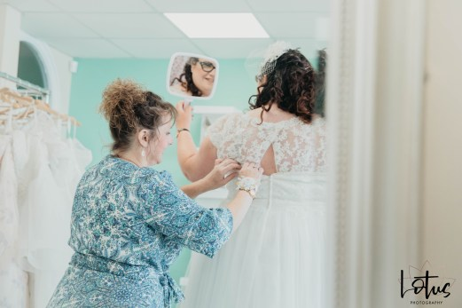 Lotus Photography Bournemouth Poole Dorset Hampshire Brides With Curves Emma Kay MUA Dress Fitting 20190804 89